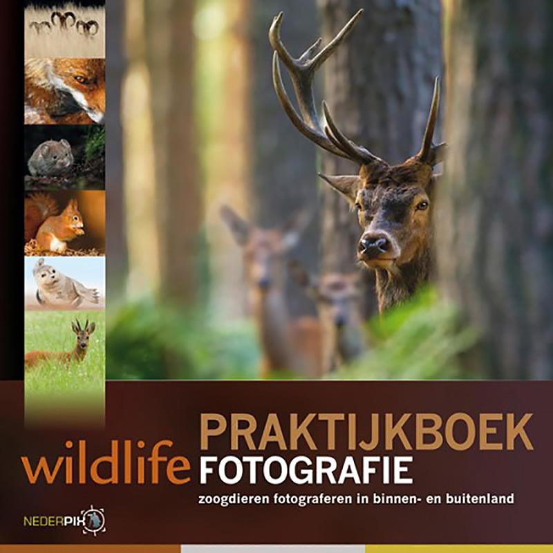 Cover Praktijkboek wildlifefotografie.