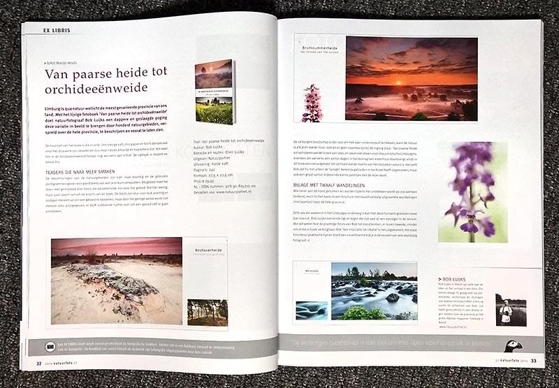 Recensie in Natuurfoto Magazine.